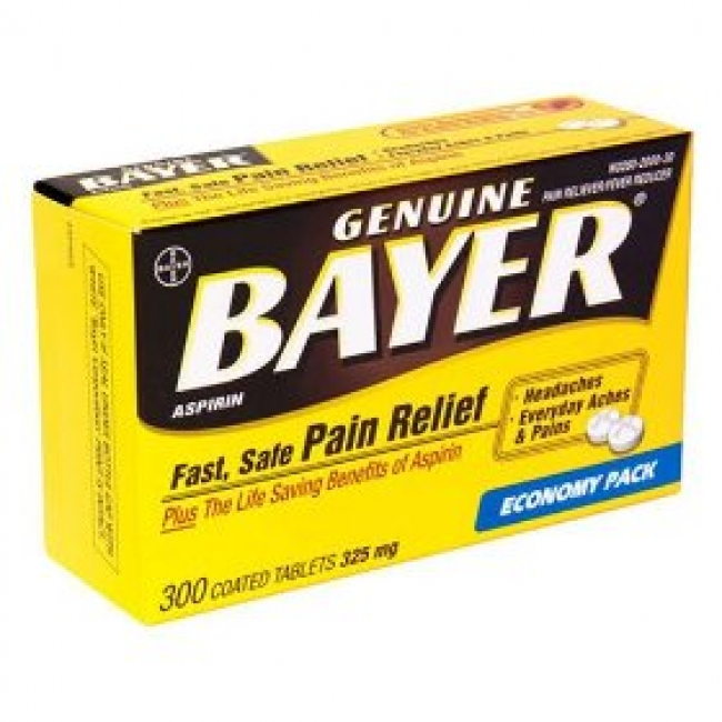 Bayer Asprin from First Aid Live