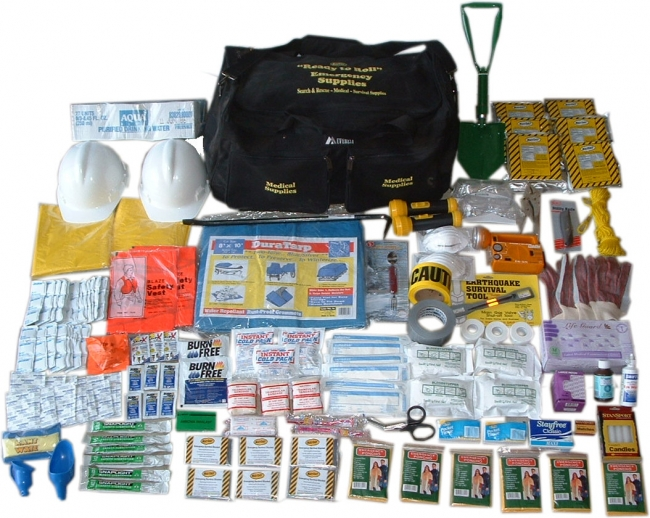 Ready To Roll Survival Kit Earthquake Preparedness From