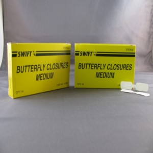 Medium Butterfly Wound Closures