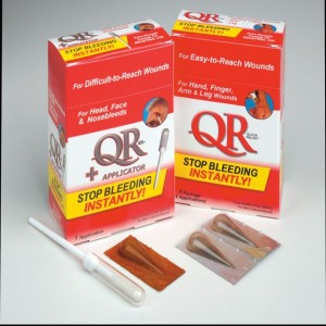 Quick Relief Stop Bleeding Powder with applicator for nose bleeds
