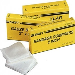 "2"" / 4 Bandage Compress"